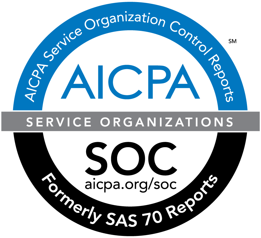 AICPA Service Organization Control Reports SOC SAS 70 Reports Logo