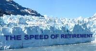 Speed of Retirement Glacier