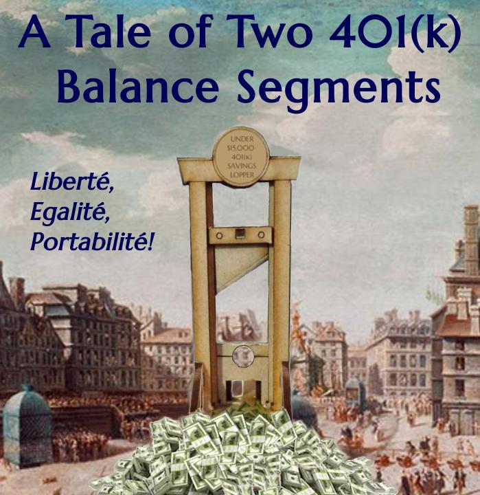 A Tale of Two 401k Balance Segments