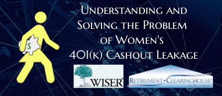 Solving the problem of women's cashout leakage