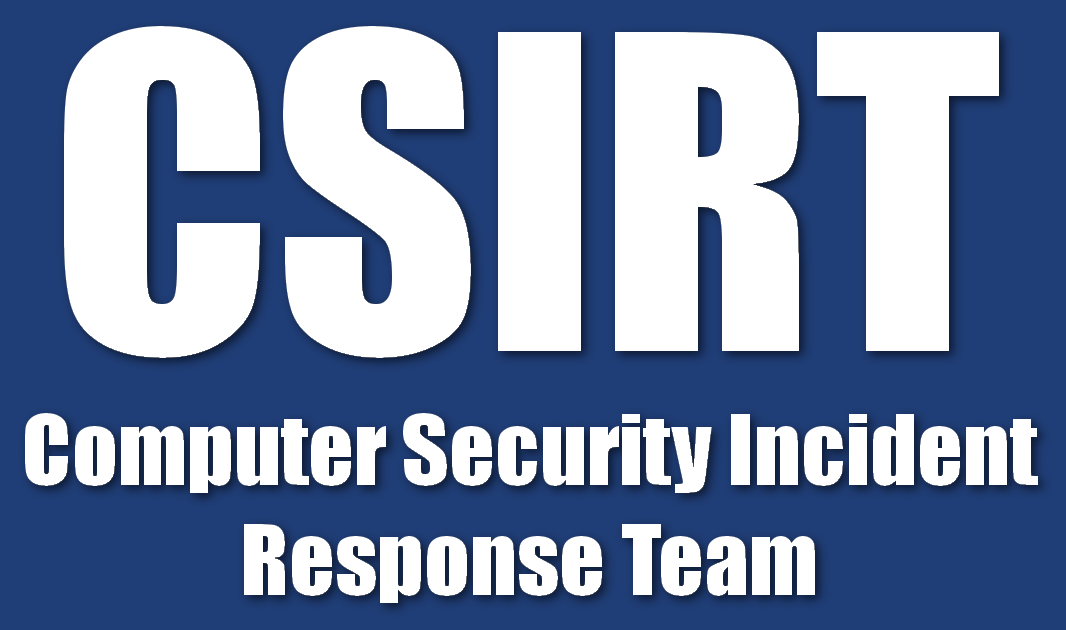 Computer Security Incident Response Team