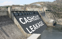 Cash Out Leakage Hoover Dam