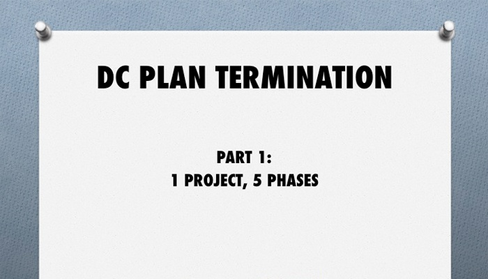 It's The Final Countdown for 2016 401(k) Plan Terminations Video