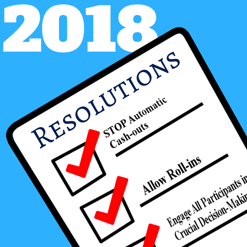 Three 2018 Resolutions