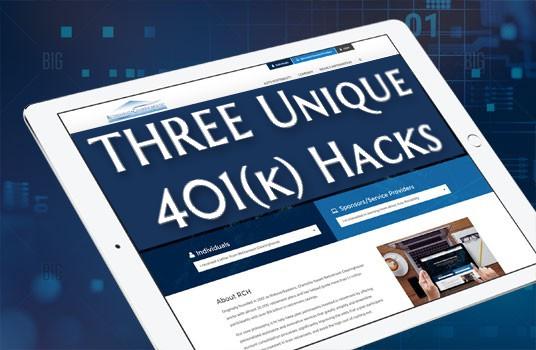Three 401k Hacks