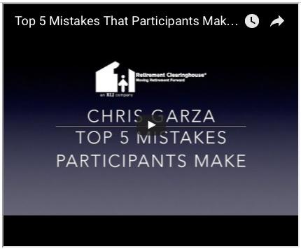 Chris Garza Top 5 Mistakes Participants Make